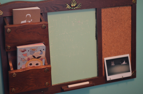 Height 320 mail 20holder 20and 20chalkboard