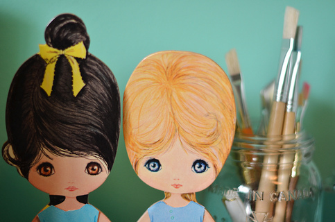 Height 320 paper 20dolls