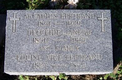 BERTRAND, DELCEIDE - Acadia County, Louisiana | DELCEIDE BERTRAND - Louisiana Gravestone Photos