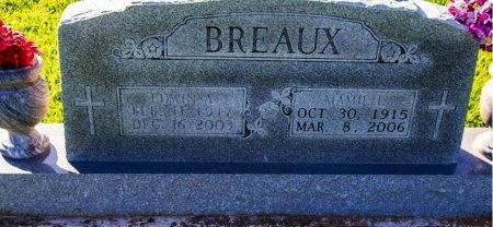 BREAUX, EDWIN DEAN - Acadia County, Louisiana | EDWIN DEAN BREAUX - Louisiana Gravestone Photos