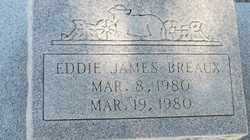 BREAUX, EDDIE JAMES - Acadia County, Louisiana | EDDIE JAMES BREAUX - Louisiana Gravestone Photos