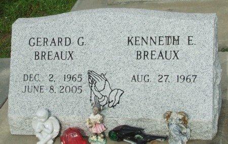 BREAUX, GERARD G - Acadia County, Louisiana | GERARD G BREAUX - Louisiana Gravestone Photos