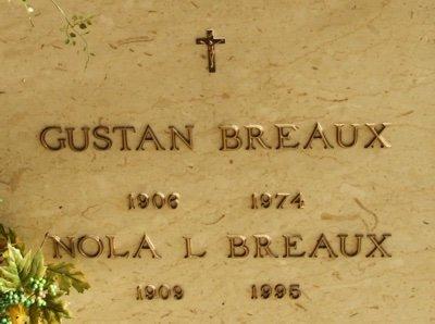 BREAUX, NOLA L - Acadia County, Louisiana | NOLA L BREAUX - Louisiana Gravestone Photos