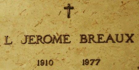 BREAUX, L JEROME - Acadia County, Louisiana | L JEROME BREAUX - Louisiana Gravestone Photos