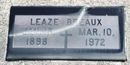 BREAUX, LEAZE - Acadia County, Louisiana | LEAZE BREAUX - Louisiana Gravestone Photos