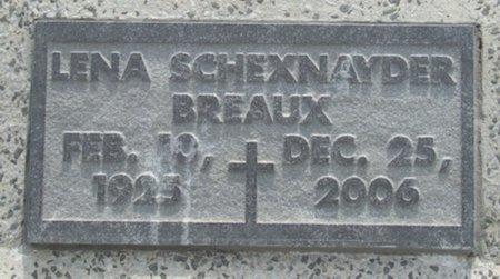 BREAUX, LENA - Acadia County, Louisiana | LENA BREAUX - Louisiana Gravestone Photos