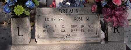 BREAUX, ROSE MAE - Acadia County, Louisiana   ROSE MAE BREAUX - Louisiana Gravestone Photos