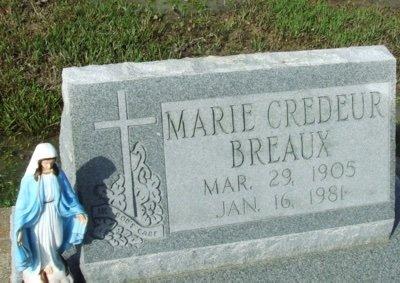 BREAUX, MARIE - Acadia County, Louisiana | MARIE BREAUX - Louisiana Gravestone Photos