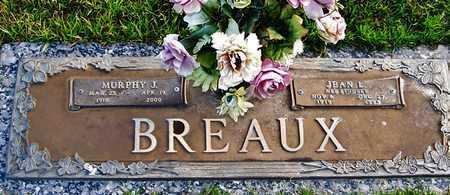 BREAUX, JEAN - Acadia County, Louisiana | JEAN BREAUX - Louisiana Gravestone Photos