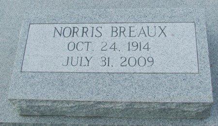 BREAUX, NORRIS - Acadia County, Louisiana   NORRIS BREAUX - Louisiana Gravestone Photos