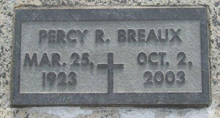 BREAUX, PERCY R - Acadia County, Louisiana | PERCY R BREAUX - Louisiana Gravestone Photos