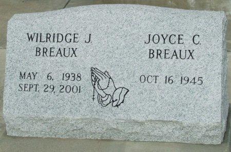 BREAUX, WILRIDGE J - Acadia County, Louisiana | WILRIDGE J BREAUX - Louisiana Gravestone Photos
