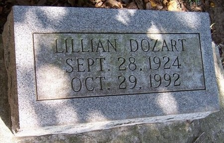 DAIGLE DOZART, LILLIAN - Acadia County, Louisiana | LILLIAN DAIGLE DOZART - Louisiana Gravestone Photos
