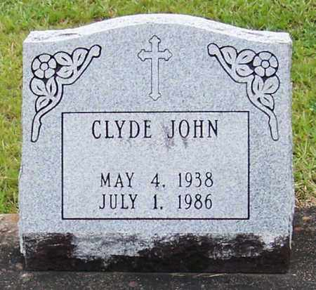 JOHN, CLYDE - Allen County, Louisiana | CLYDE JOHN - Louisiana Gravestone Photos