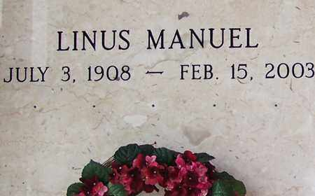 MANUEL, LINUS - Allen County, Louisiana | LINUS MANUEL - Louisiana Gravestone Photos