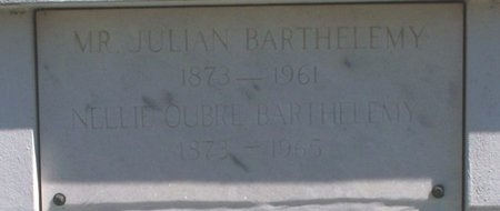 OUBRE BARTHELEMY, NATALIE J - Ascension County, Louisiana   NATALIE J OUBRE BARTHELEMY - Louisiana Gravestone Photos