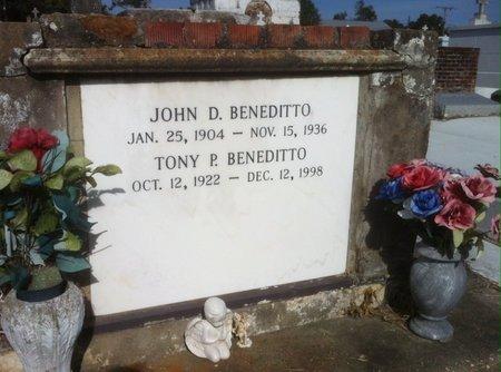 BENEDITTO, TONY E - Ascension County, Louisiana | TONY E BENEDITTO - Louisiana Gravestone Photos