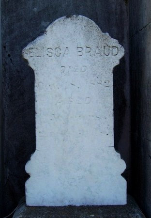 BRAUD, ELISCA (CLOSE UP) - Ascension County, Louisiana | ELISCA (CLOSE UP) BRAUD - Louisiana Gravestone Photos