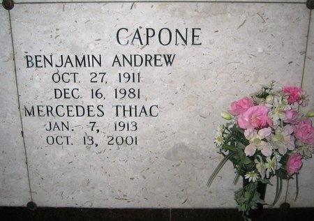 CAPONE, MERCEDES - Ascension County, Louisiana   MERCEDES CAPONE - Louisiana Gravestone Photos