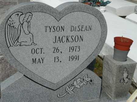 JACKSON, TYSON DESEAN - Ascension County, Louisiana | TYSON DESEAN JACKSON - Louisiana Gravestone Photos