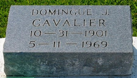 CAVALIER, DOMINGUE J - Assumption County, Louisiana | DOMINGUE J CAVALIER - Louisiana Gravestone Photos