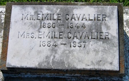 CAVALIER, LOCADIE - Assumption County, Louisiana | LOCADIE CAVALIER - Louisiana Gravestone Photos