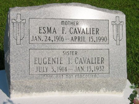 CAVALIER, EUGENIE I - Assumption County, Louisiana | EUGENIE I CAVALIER - Louisiana Gravestone Photos