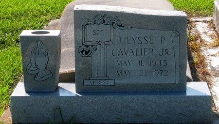 CAVALIER, ULYSSE P, JR - Assumption County, Louisiana   ULYSSE P, JR CAVALIER - Louisiana Gravestone Photos