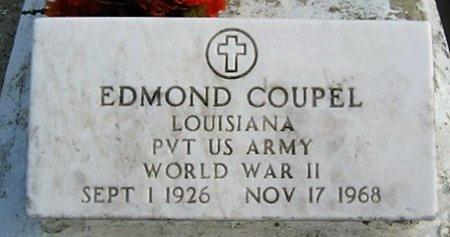 COUPEL, EDMOND  (VETERAN WWII) - Assumption County, Louisiana   EDMOND  (VETERAN WWII) COUPEL - Louisiana Gravestone Photos