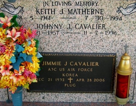 CAVALIER, JOHNNY J - Assumption County, Louisiana | JOHNNY J CAVALIER - Louisiana Gravestone Photos