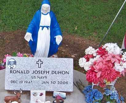 DUHON, RONALD JOSEPH  (VETERAN) - Beauregard County, Louisiana   RONALD JOSEPH  (VETERAN) DUHON - Louisiana Gravestone Photos