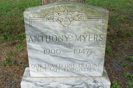 MYERS, ANTHONY - Beauregard County, Louisiana   ANTHONY MYERS - Louisiana Gravestone Photos