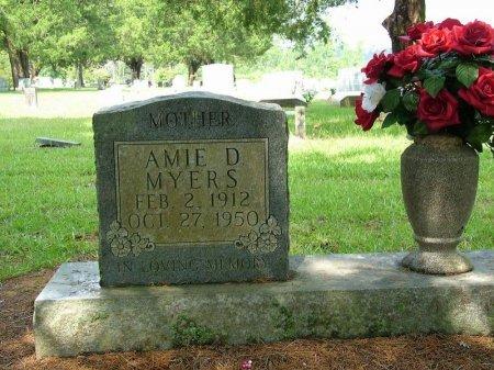 MYERS, AMIE - Beauregard County, Louisiana | AMIE MYERS - Louisiana Gravestone Photos