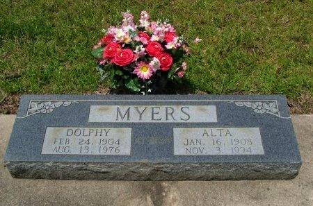 MYERS, DOLPHY - Beauregard County, Louisiana | DOLPHY MYERS - Louisiana Gravestone Photos