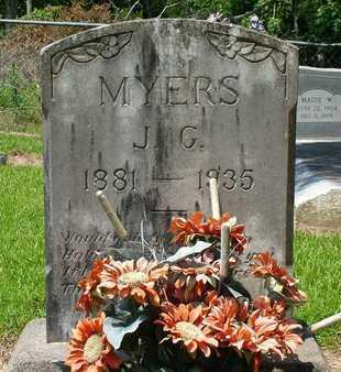 MYERS, JACOB  GIBSON - Beauregard County, Louisiana | JACOB  GIBSON MYERS - Louisiana Gravestone Photos