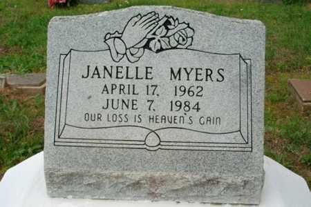 MYERS, JANELLE - Beauregard County, Louisiana | JANELLE MYERS - Louisiana Gravestone Photos
