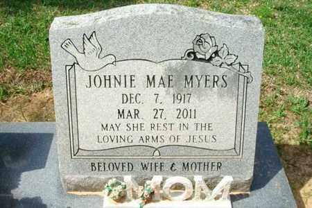 MYERS, JOHNIE MAE - Beauregard County, Louisiana   JOHNIE MAE MYERS - Louisiana Gravestone Photos
