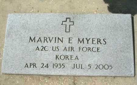 MYERS, MARVIN E  (VETERAN KOR) - Beauregard County, Louisiana | MARVIN E  (VETERAN KOR) MYERS - Louisiana Gravestone Photos