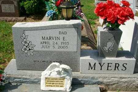 MYERS, MARVIN E - Beauregard County, Louisiana | MARVIN E MYERS - Louisiana Gravestone Photos