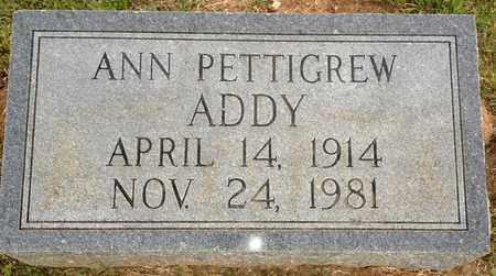 PETTIGREW ADDY, ANN - Bienville County, Louisiana | ANN PETTIGREW ADDY - Louisiana Gravestone Photos