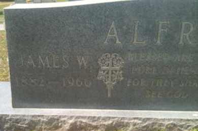 ALFRED, JAMES W - Bienville County, Louisiana | JAMES W ALFRED - Louisiana Gravestone Photos