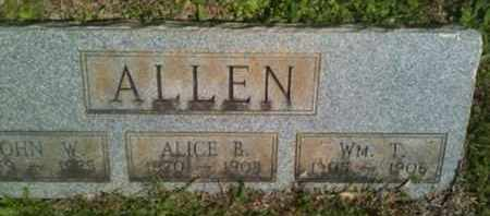 ALLEN, ALICE B - Bienville County, Louisiana | ALICE B ALLEN - Louisiana Gravestone Photos