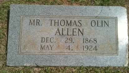 ALLEN, THOMAS OLIN - Bienville County, Louisiana | THOMAS OLIN ALLEN - Louisiana Gravestone Photos