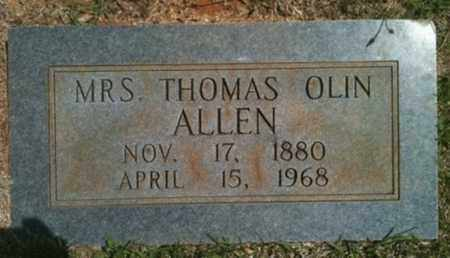 ALLEN, THOMAS OLIN, MRS - Bienville County, Louisiana | THOMAS OLIN, MRS ALLEN - Louisiana Gravestone Photos