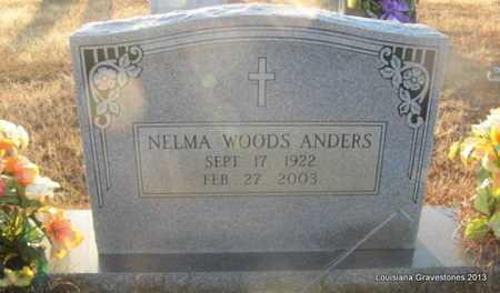 WOODS ANDERS, NELMA - Bienville County, Louisiana | NELMA WOODS ANDERS - Louisiana Gravestone Photos