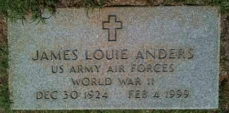 ANDERS, JAMES LOUIS (VETERAN WWII) - Bienville County, Louisiana | JAMES LOUIS (VETERAN WWII) ANDERS - Louisiana Gravestone Photos