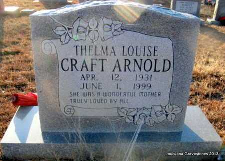 CRAFT ARNOLD, THELMA LOUISE - Bienville County, Louisiana | THELMA LOUISE CRAFT ARNOLD - Louisiana Gravestone Photos