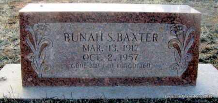 SLACK BAXTER, BUNAH - Bienville County, Louisiana   BUNAH SLACK BAXTER - Louisiana Gravestone Photos