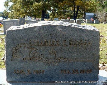 BOGAN, CHARLES E - Bienville County, Louisiana | CHARLES E BOGAN - Louisiana Gravestone Photos