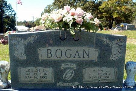 BOGAN, ERNEST D - Bienville County, Louisiana | ERNEST D BOGAN - Louisiana Gravestone Photos